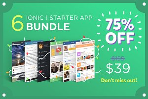 The Best Ionic 1 Starters Bundle