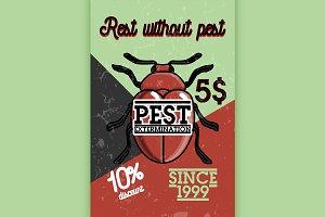 pest extermination banner