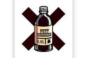 pest extermination emblem