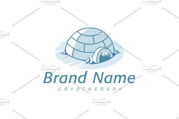 Arctic Igloo Logo Logo Templates Creative Market