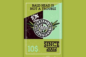 remedy for baldness banner