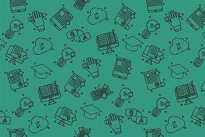 E-education set pattern.