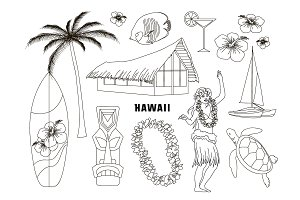 Hawaiian, Hawaii Set