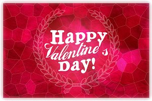 Happy Valentine's day - Postcard