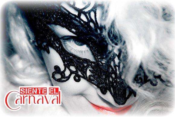 Siente El Carnaval Postal Postcard