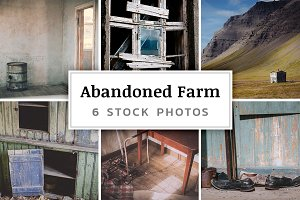 Abandoned Farm – 6 Stock Photos