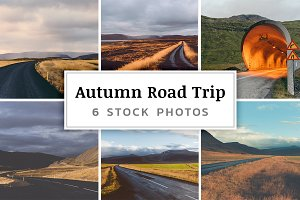Autumn Road Trip – 6 Stock Photos