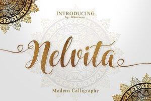 Nelvita Script (Duo Font + Extra)