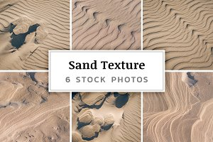 Sand Texture – 6 Stock Photos