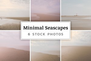 Minimal Seascapes – 6 Stock Photos