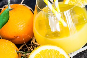 Organic orange food