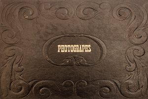 Antique Photo Album Covers