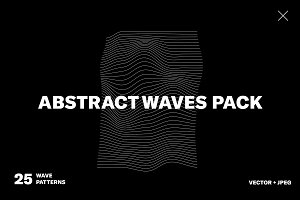 Abstract Waves Pack 01