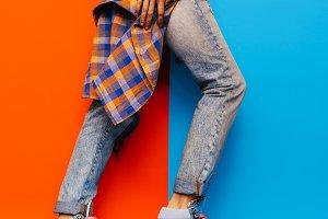 Denim Style fashion jeans
