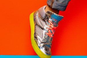 Sneakers Disco Minimal Style
