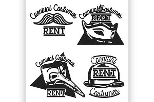 carnival costumes rent emblems