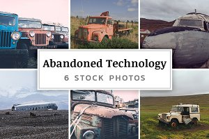 Abandoned Technology 6 Stock Photos