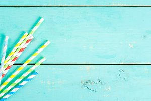 Straws for summer drinks