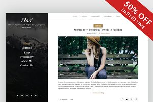 Flore - Personal Blog Theme