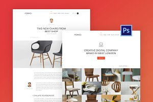 Yokko - Multipurpose PSD Template