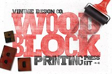 WoodBlock Printing Press Kit