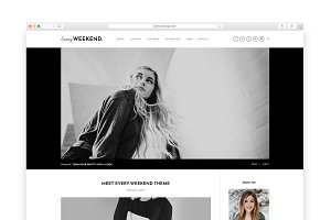 Every Weekend - A Blog & Shop Theme