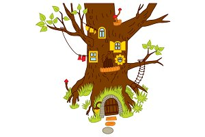 Vector Forest House