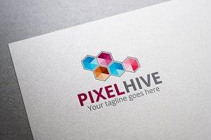 Pixel Hive Logo