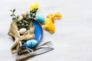 Easter festive concept