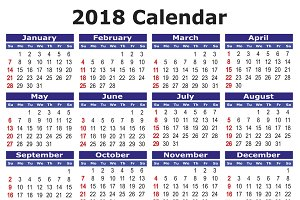 list of government and public holidays in 2018