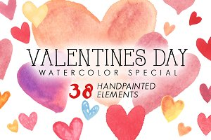 Valentines Day Watercolor Special