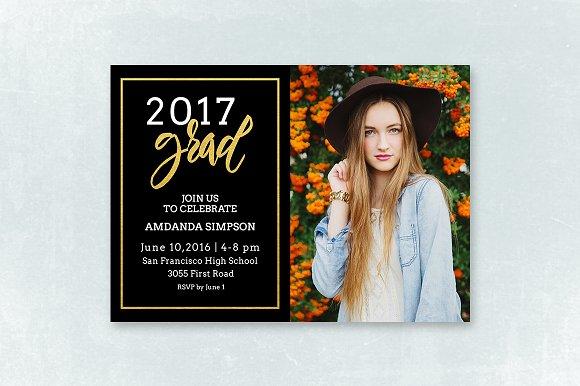 Senior Graduation Announcement 040