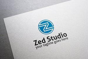 Zed Studio Letter Z Logo