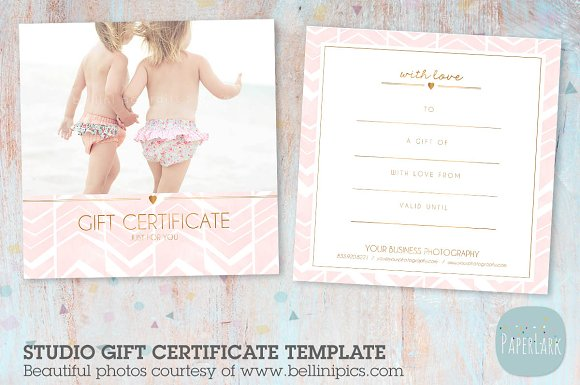 VG010 Gift Certificate Template
