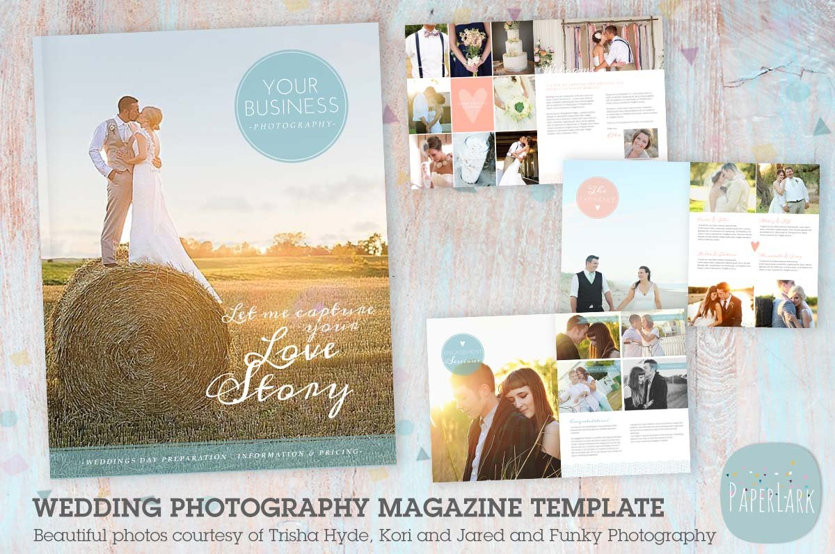Pg004 wedding photography magazine magazine templates for Wedding photography magazine template