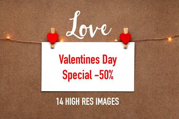 LOVE Photo Pack Valentines Day-50%