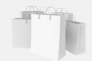 Empty Shopping Bags
