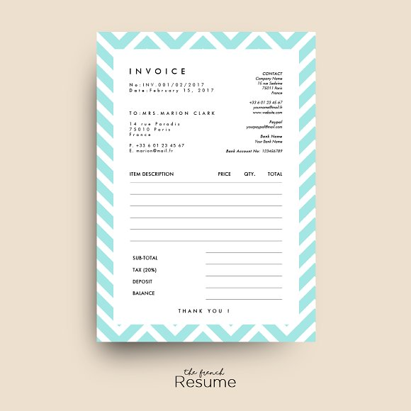 Creative Receipt Templates For Your Design Projects Creative