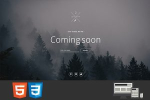 4earth - Coming Soon HTML Template