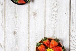 Mix of strawberries