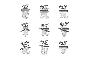 Barber shop templates