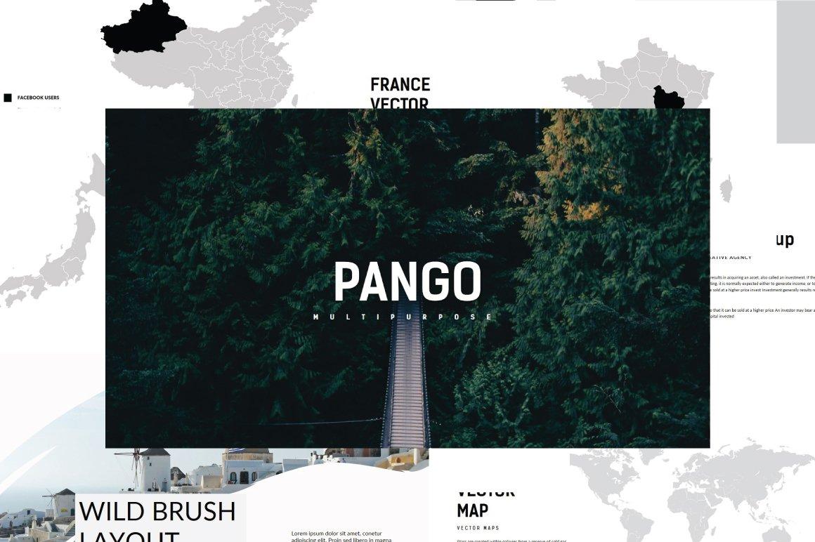 Pango powerpoint template presentation templates creative market toneelgroepblik Choice Image