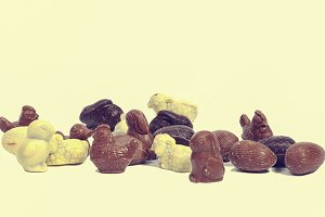 Easter holiday chocolates