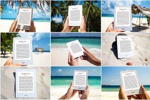 E-Book Reader,9 PSD Mock-Ups, BUNDLE