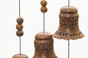 handmade hanging bells