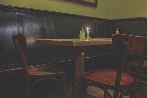 Vintage pub style