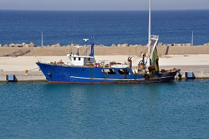 Fishing Trawler Ship