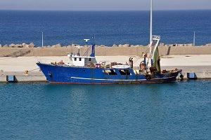 Fishing Trawler Ship