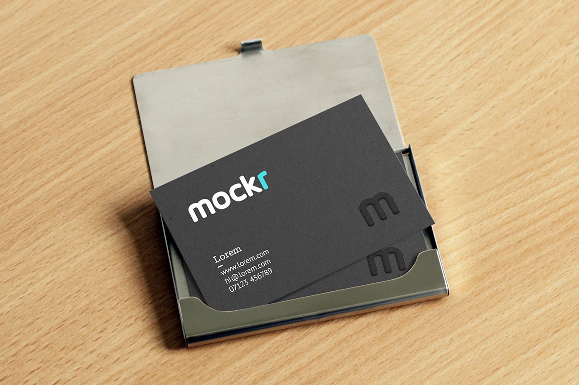 Business card seed packet mockup ~ Product Mockups ~ Creative Market