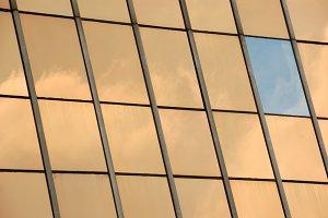 Glass Facade Panel